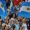 Il tifo per l'Argentina, politico anche quando non vuole...