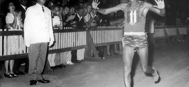 """Abebe Bikila, la """"faccetta nera"""" che conquistò Roma"""