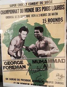 45 anni di Rumble in the Jungle