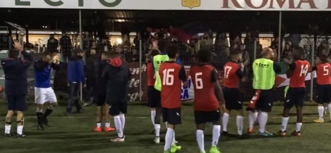 Pro Appio - Atletico San Lorenzo, o di cosa significhi calcio popolare