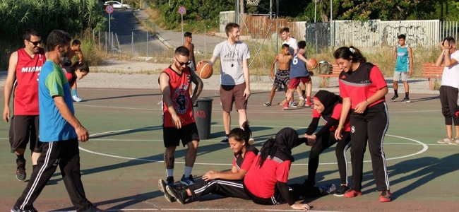 Basket Beats Borders: per la seconda volta a Roma lo Youth Palestine Club